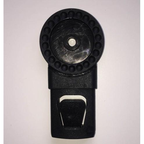 Механизм регулировки капюшона люльки и прогулочного блока тип 3