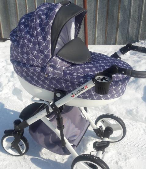 фот коляски Lonex Comfort 3 в 1
