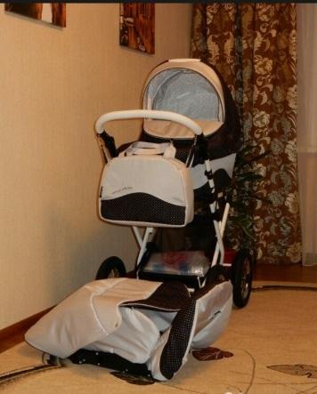фото коляски Lonex Carrozza 2 в 1