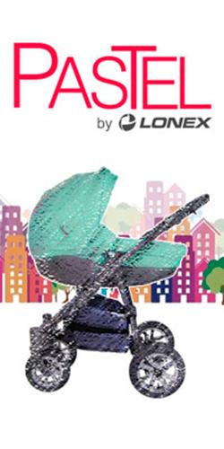 фото коляски Lonex Pastel