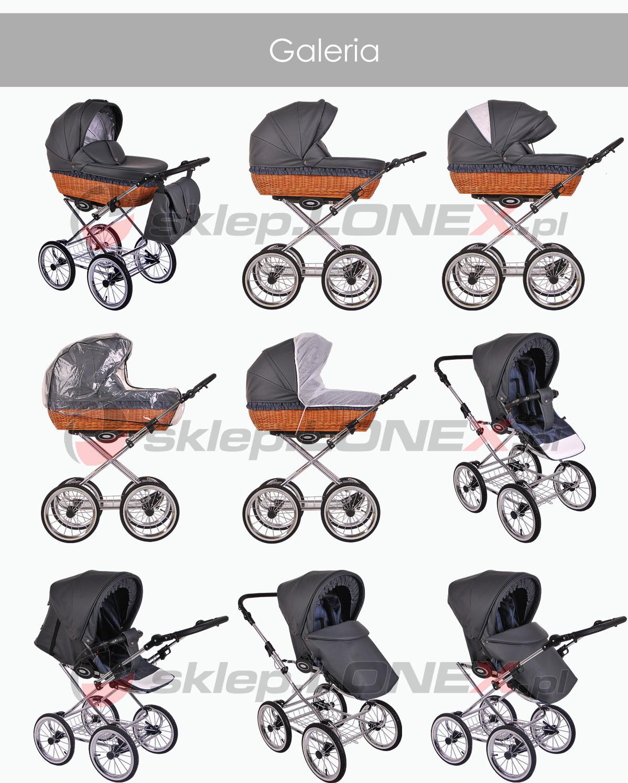 фото коляски Lonex Retro Ecco Leder