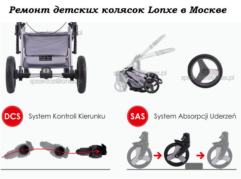 фото ремонта колясок Lonex в Москве